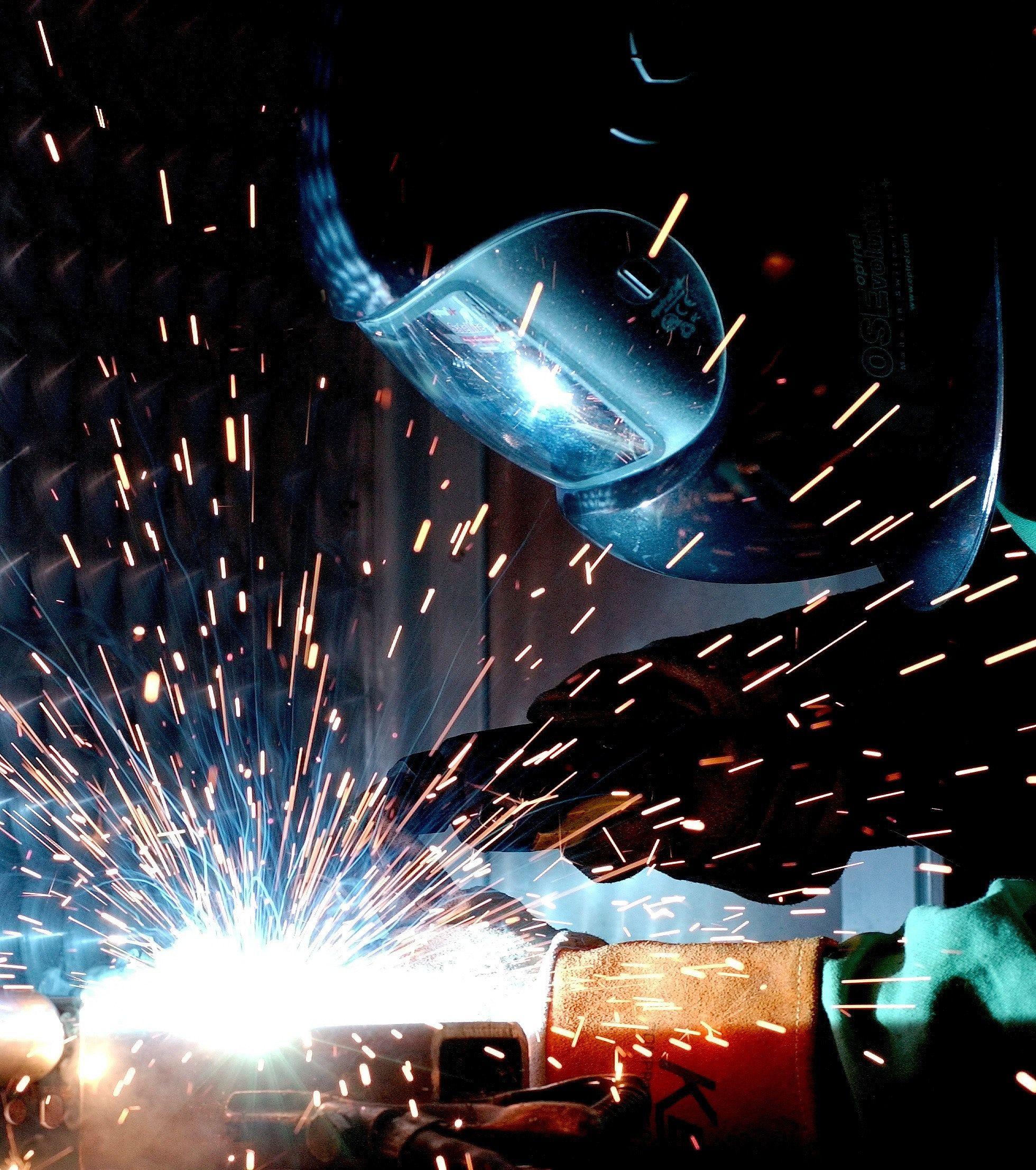 person-sparks-welder-73833-compressor
